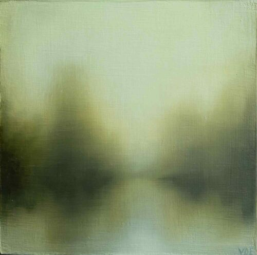 Beyond Dreich. Imaginary landscape By Victoria Orr Ewing