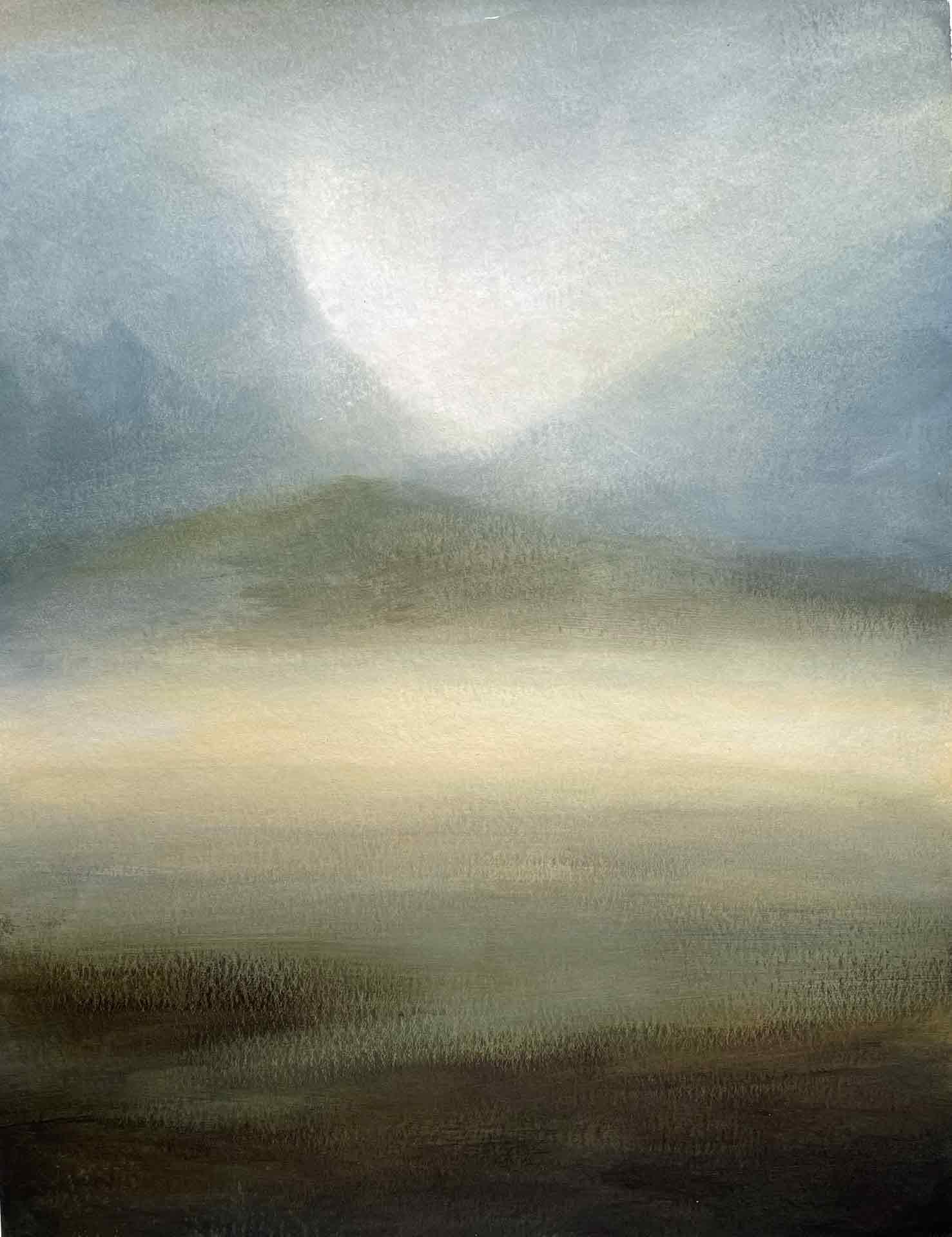 Bright Sands, Uig, Lewis. Oil on board. 30 x 40 cm.