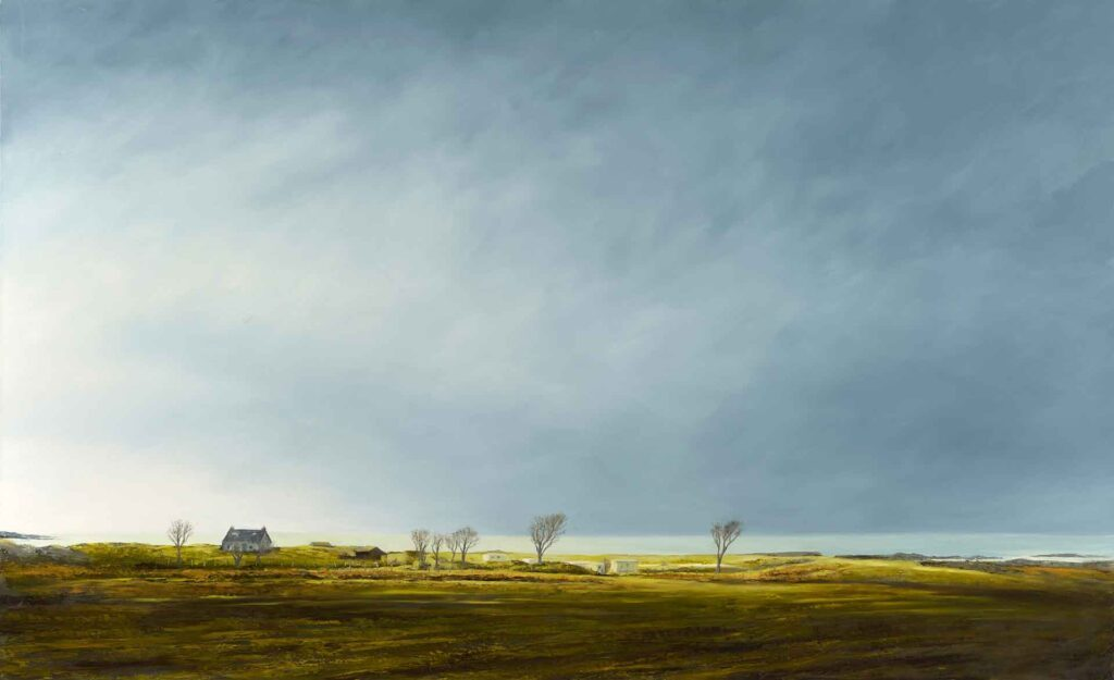 Ceapaich, Near Arisaig, Scotland, Landscape Painting by Victoria Orr Ewing