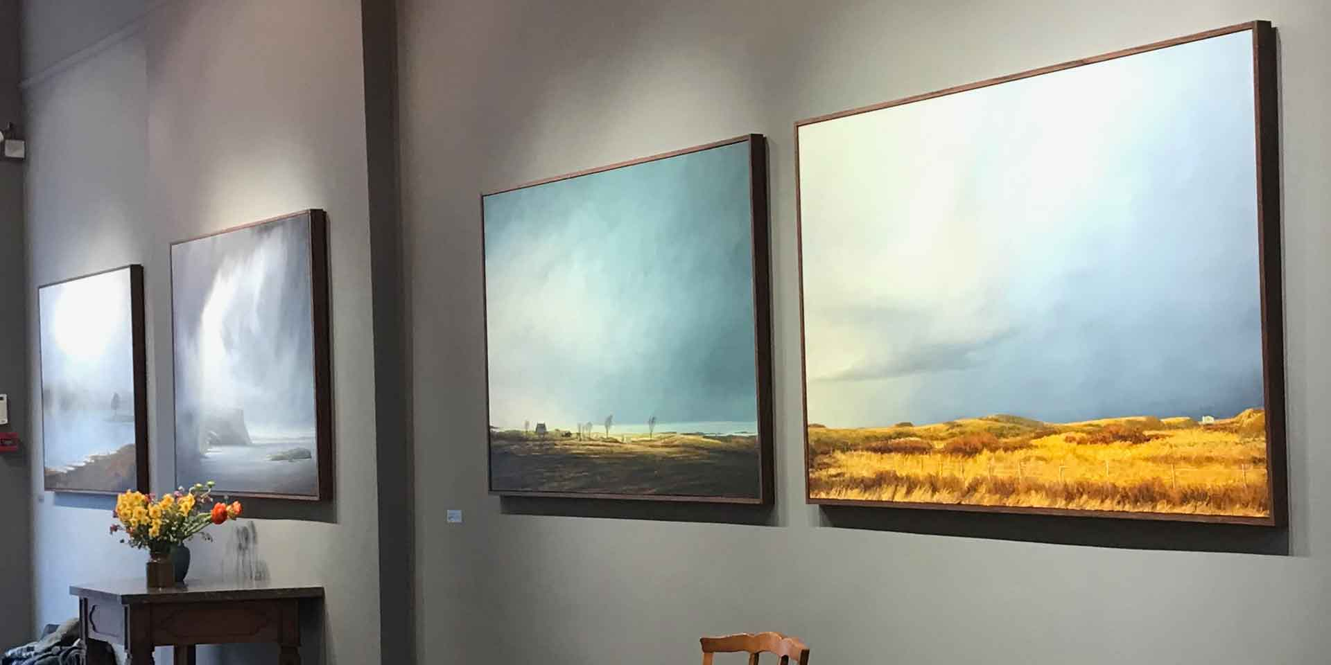 Victoria Orr Ewing's Exhibition At The Fine Art Society's Gallery In Edinburgh