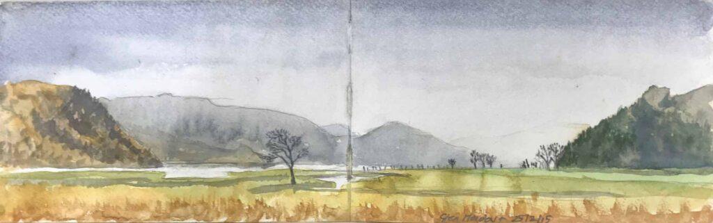 Sketch Of Glen Moidart, Argyll.