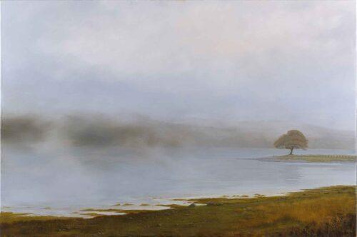 Loch Eil, Lochaber, Scotland. Landscape Painting by Victoria Orr Ewing.