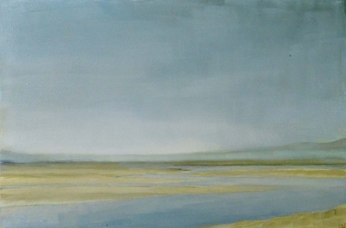 Luskentyre, Harris. Oil on board. 20 x 15 cm
