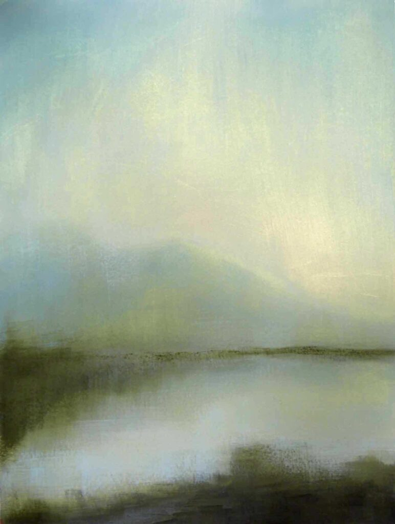 Morning Light Between Islands, South Uist. The Outer Hebrides. Landscape Painting By Victoria Orr Ewing