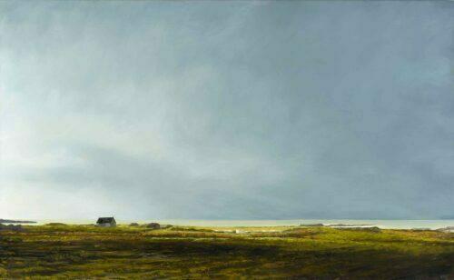 Near Arisaig, Scotland, Landscape Painting by Victoria Orr Ewing