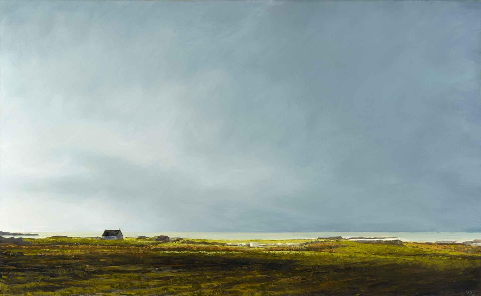 Near Arisaig. 146 x 89 cm. Oil on canvas. SOLD