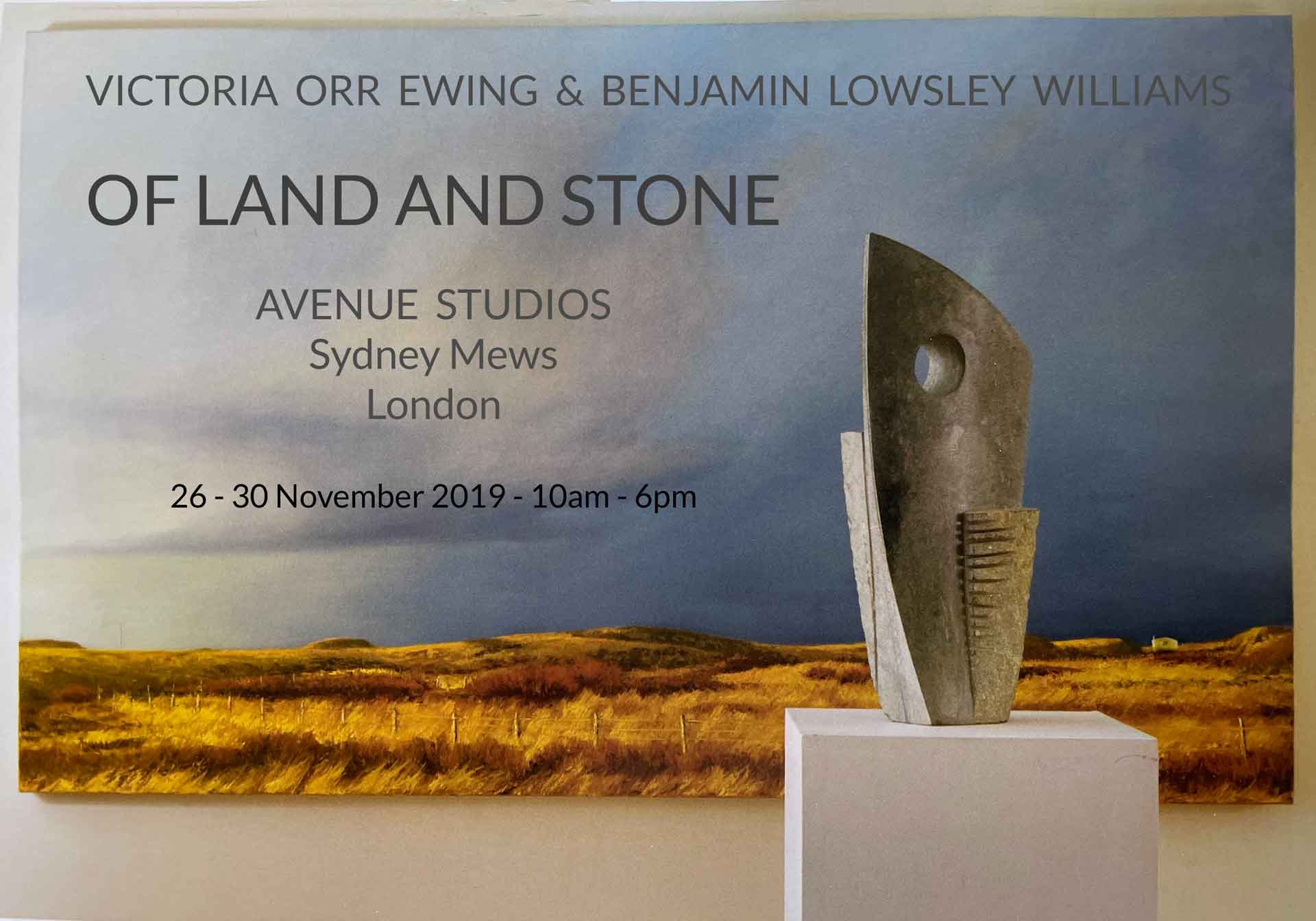 """Featured image for """"Of Land And Stone   26th – 30th November 2019"""""""