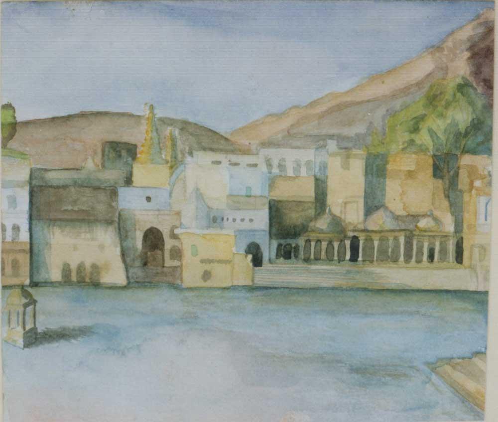 Sketch Of Pushkar In India