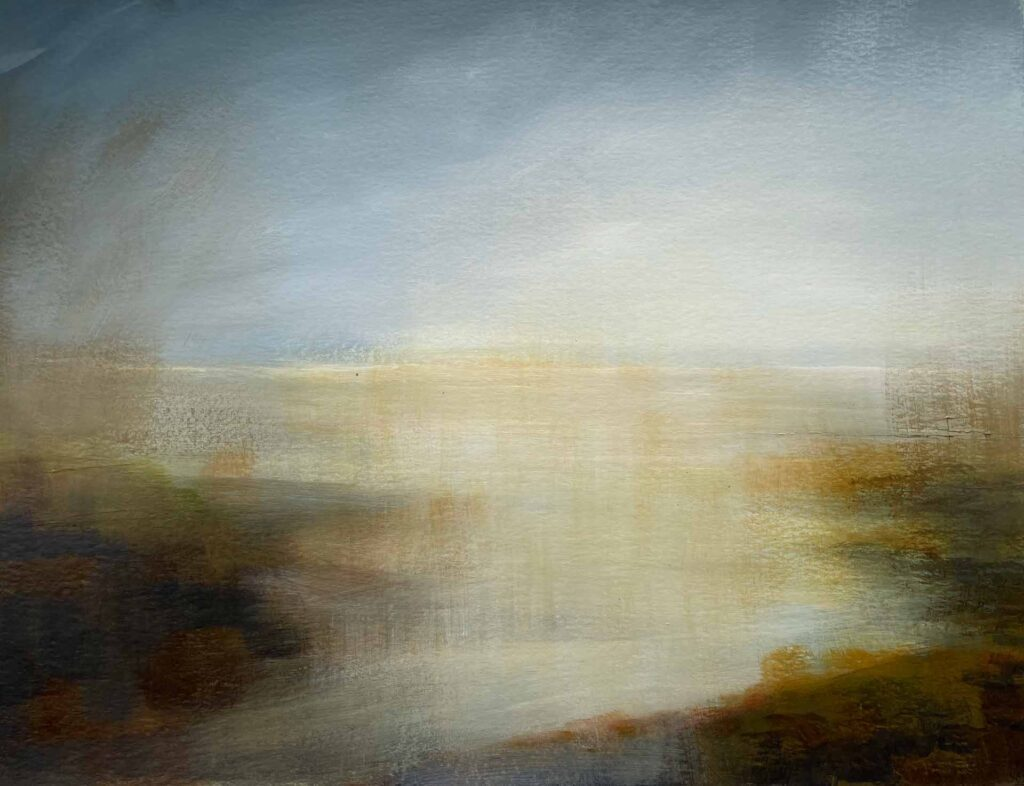 Sands of The Western Isles. Landscape Painting By Victoria Orr Ewing