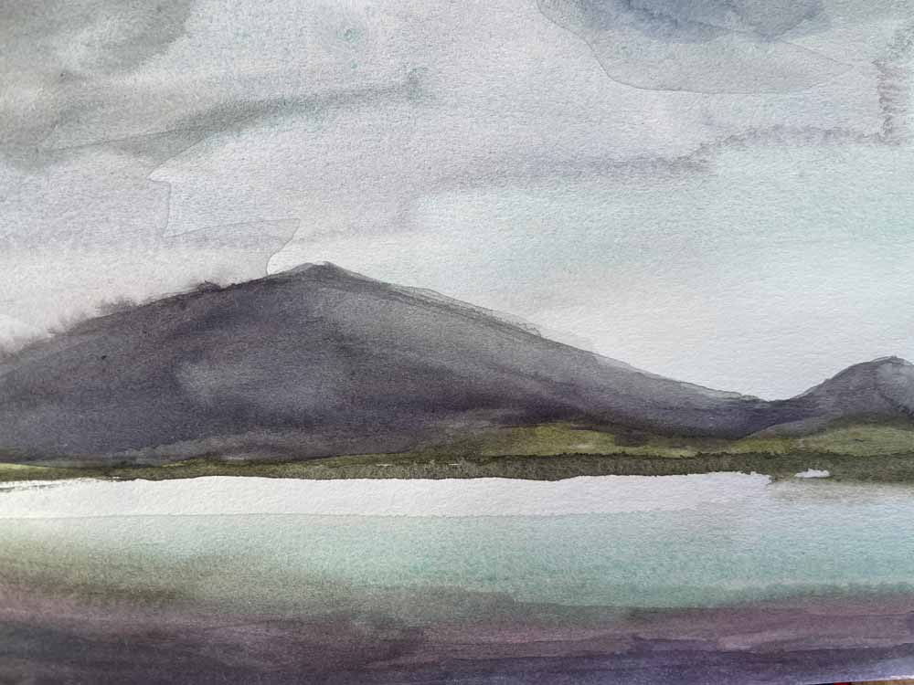 Sketch of The Colour of The Sea, Uig