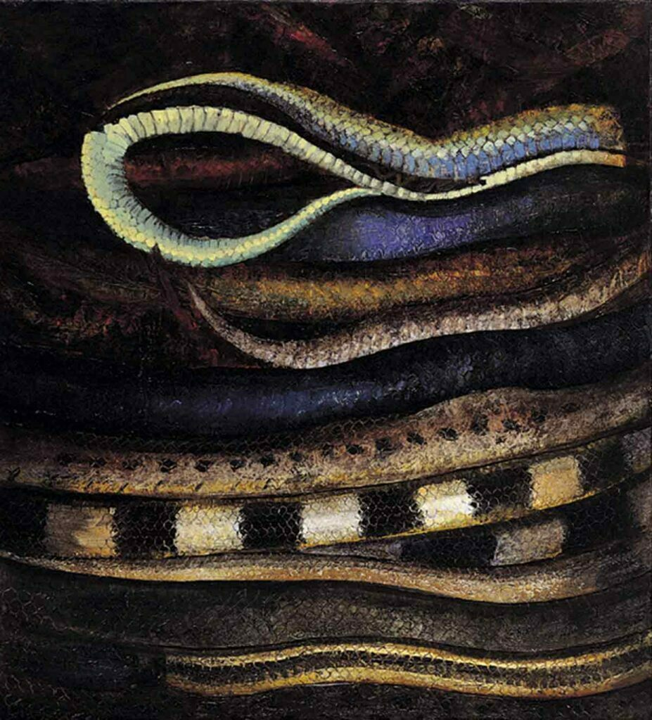 Snake Wine. Still Life Painting by Victoria Orr Ewing