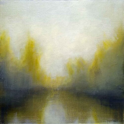 Spring Equinox, Landscape Painting by Victoria Orr Ewing