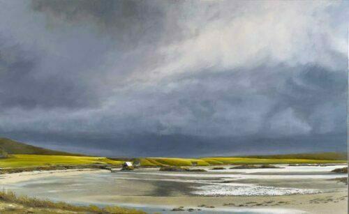 Traigh Beach, Arisaig. Landscape by Victoria Orr Ewing