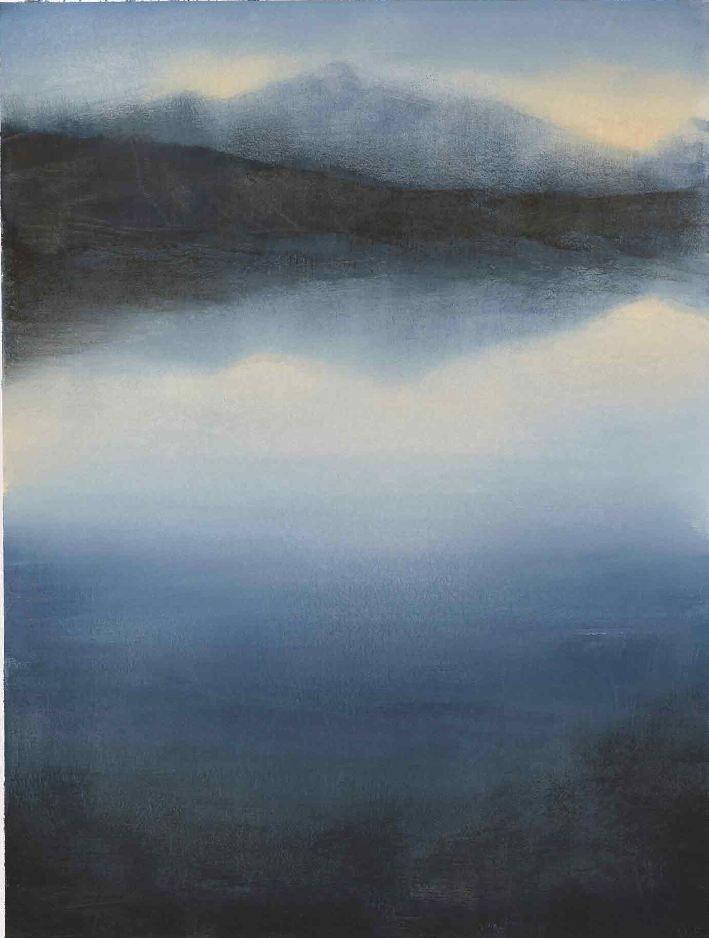 Sunrise Over Hecla On South Uist In The Outer Hebrides - Landscape Painting By Victoria Orr Ewing