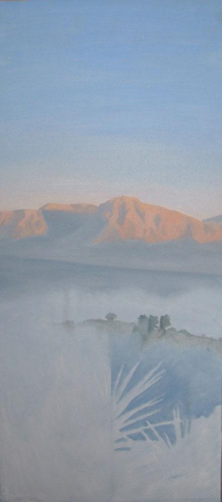 Romo sunrise Landscape Oil Painting By Victoria Orr Ewing
