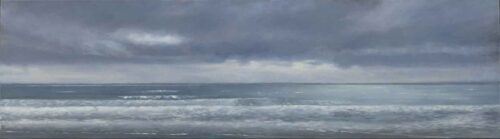 The Irish Channel. Landscape Painting by Victoria Orr Ewing