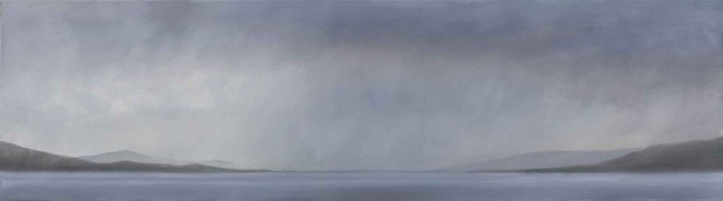 The Sound of Mull. Landscape Painting by Victoria Orr Ewing